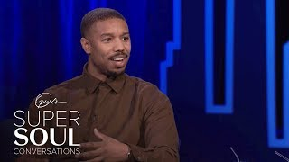 Michael B. Jordan Calls an Oscar For Black Panther Icing On The Cake | SuperSoul Conversations | OWN