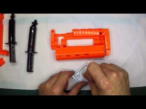 Using Devcon Plastic Welder for Nerf