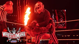 The Fiend targets Randy Orton with eerie attack: WrestleMania 37 - Night 2 (WWE Network Exclusive)