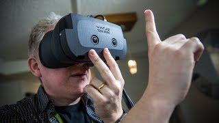Hands-On: Varjo's 'Bionic Display' Prototype VR Headset!
