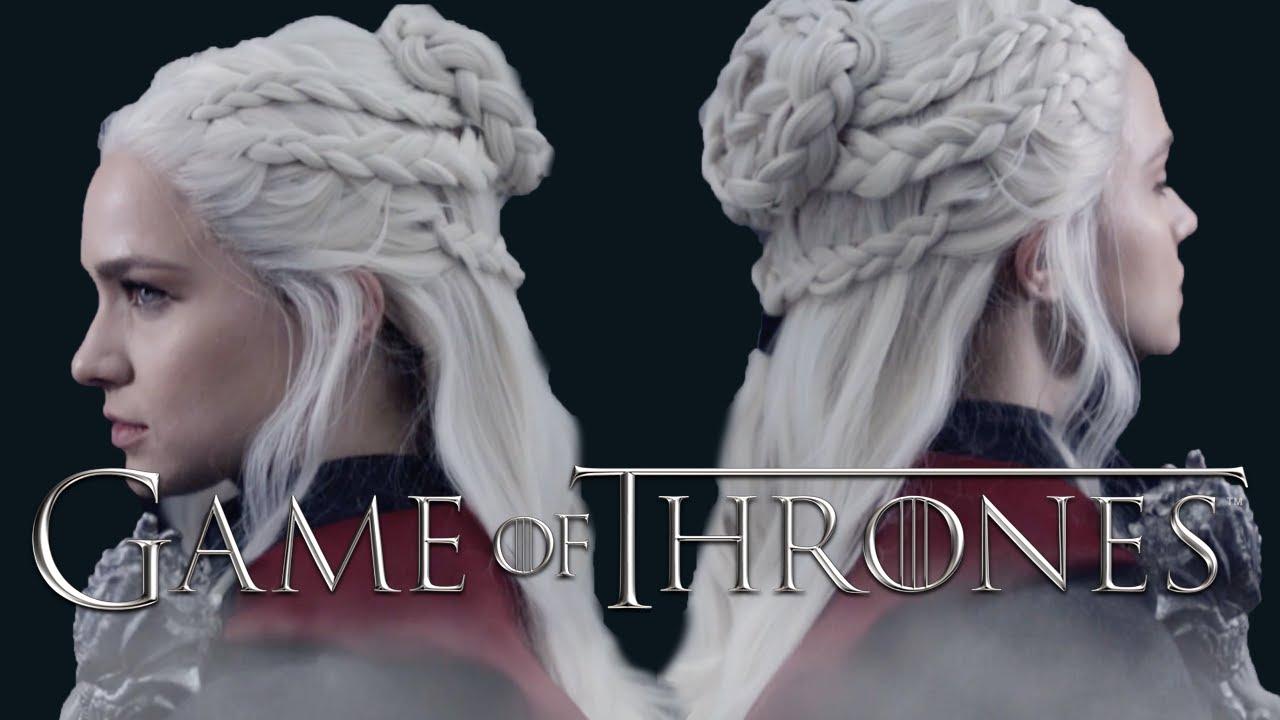 Game Of Thrones Daenerys Season 7hairstyle Tutorial Kayleymelissa