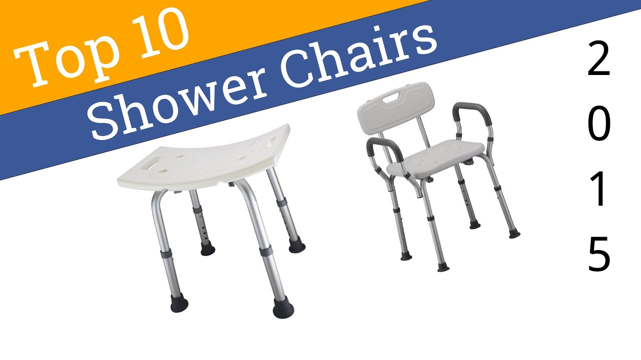 10 Best Shower Chairs 2015 - YouTube