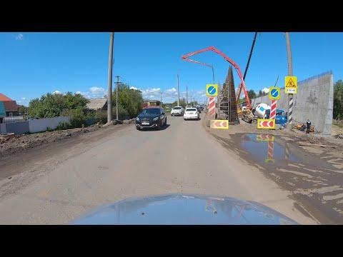 Строительство новой дороги от Стромиловского кольца до улицы Фрунзе в Самаре