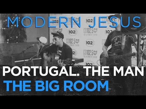 """Portugal. The Man """"Modern Jesus"""" In The CD102.5 Big Room"""