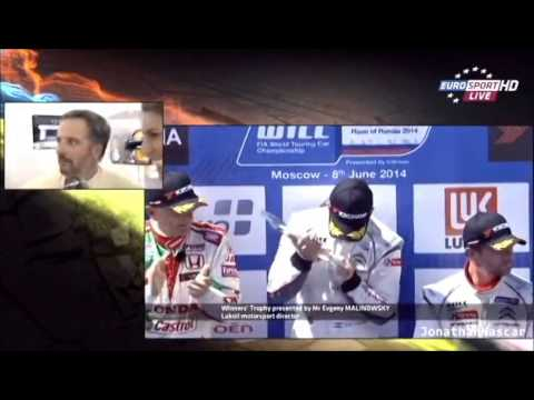 Yvan Muller clashe Laury Thilleman