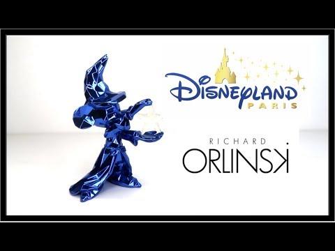 Figurine Mickey Apprenti Sorcier// Richard Orlinski Disney Disneyland paris