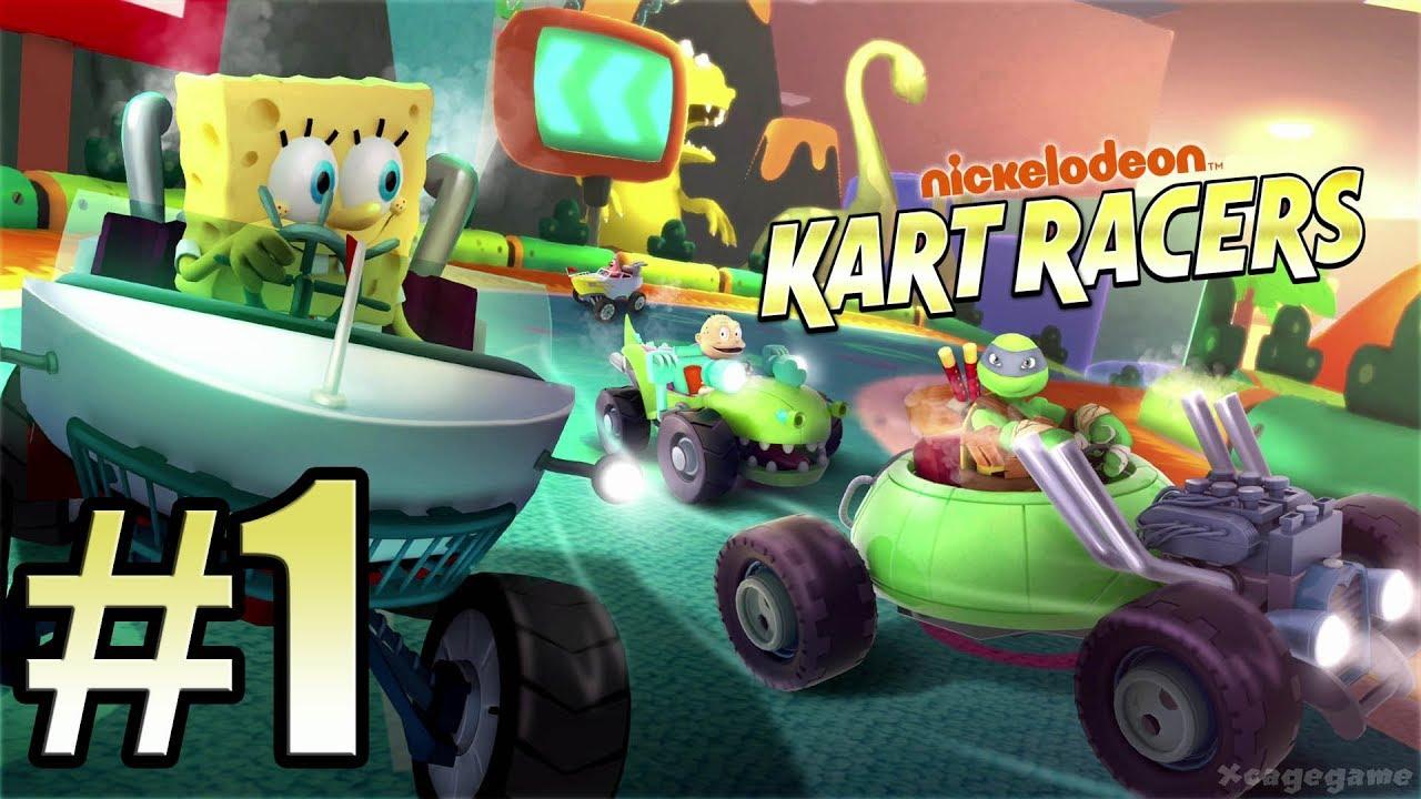 Nickelodeon Kart Racers Gameplay Walkthrough Part 1