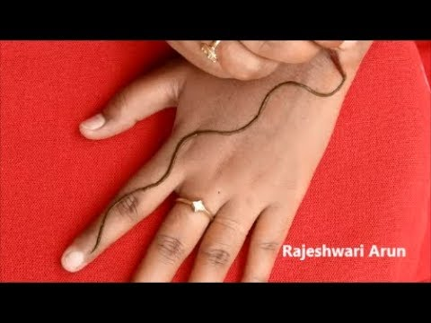 Mehndi Designs By Rajeshwari Arun S Simple Latest Mehndi Design For