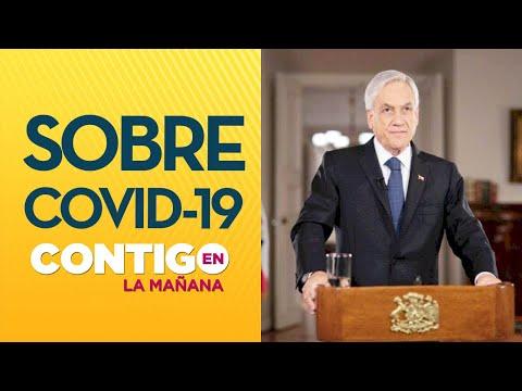 FASE 4: Piñera confirmó 155 casos de COVID-19 en Chile - Contigo en La Mañana