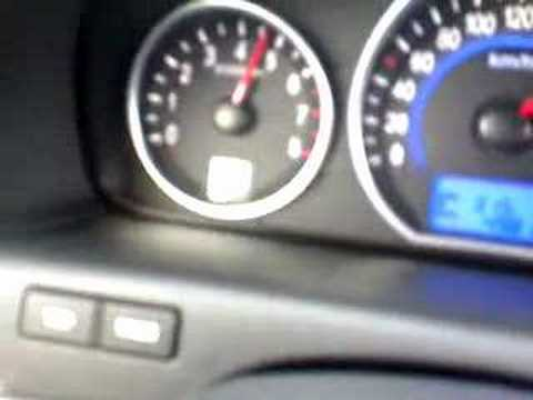 SUV Hyundai Veracruz ix55 Aceleration Test 0 - 200kms 3.8 Liters Petrol