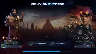 StarCraft 2 Co-Op Oblivion Express Mengsk and H&H