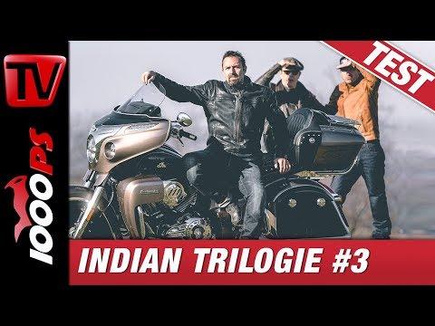 Indian Trilogie #3 - Vauli, die faule Ausfahrt und der Sound vom Indian Roadmaster