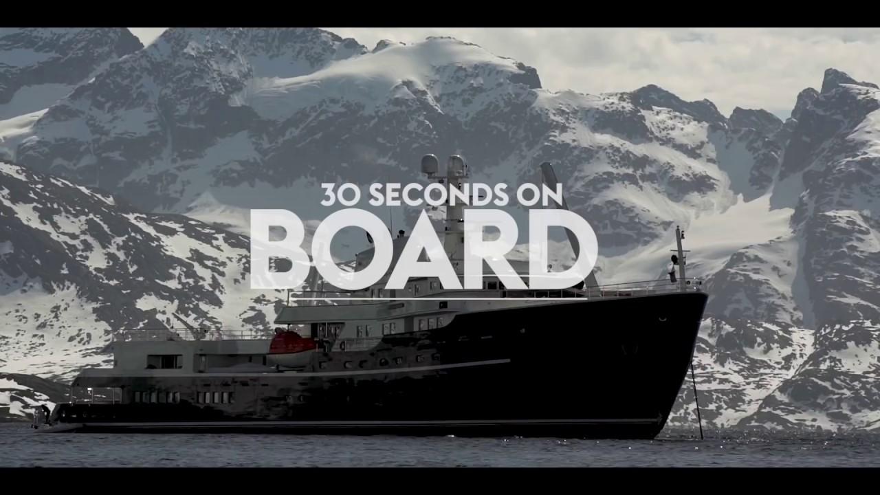 Legend: The 77m Soviet icebreaker turned explorer yacht | Boat