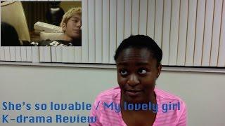 Video She's so lovable/ My lovely girl Episode 5-6 K-Drama Review download MP3, 3GP, MP4, WEBM, AVI, FLV Juni 2018