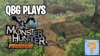 🔴 QBG Plays: Monster Hunter Freedom 1- LIVE!
