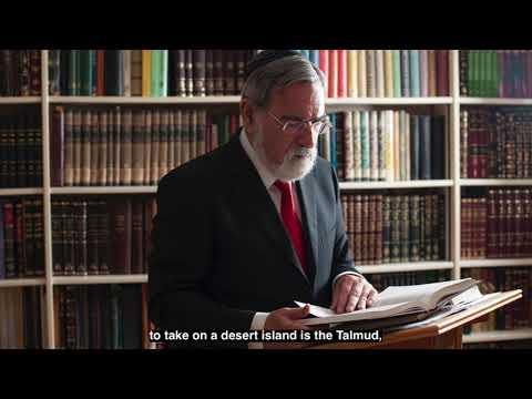 Rabbi Sacks on BBC Radio's Desert Island Discs