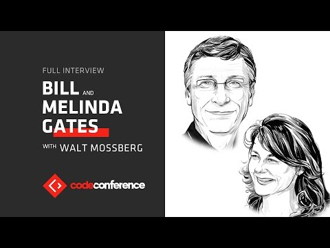 Philanthropy can be innovative | Bill Gates and Melinda Gates | Code Conference 2016