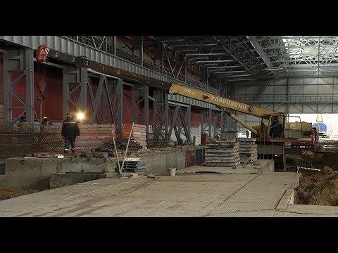 Строительство участка термообработки в ЦОПе ОЭМК