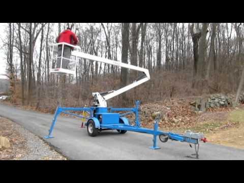 Eagle 44 Towable Lift by Ameriquip  YouTube