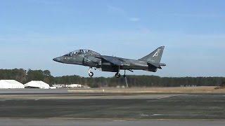 AV-8B Harrier Landing & Takeoff