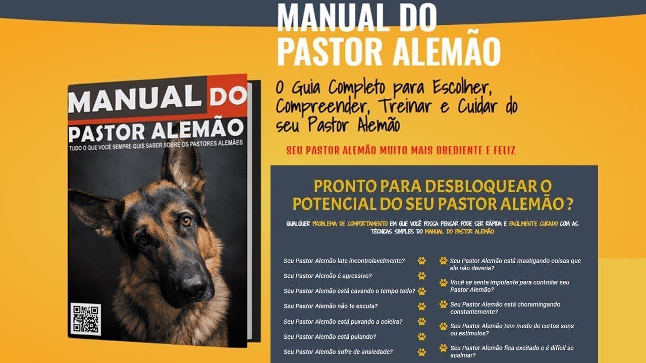 Manual do Pastor Alemão - Guia de Adestramento Passo a Passo