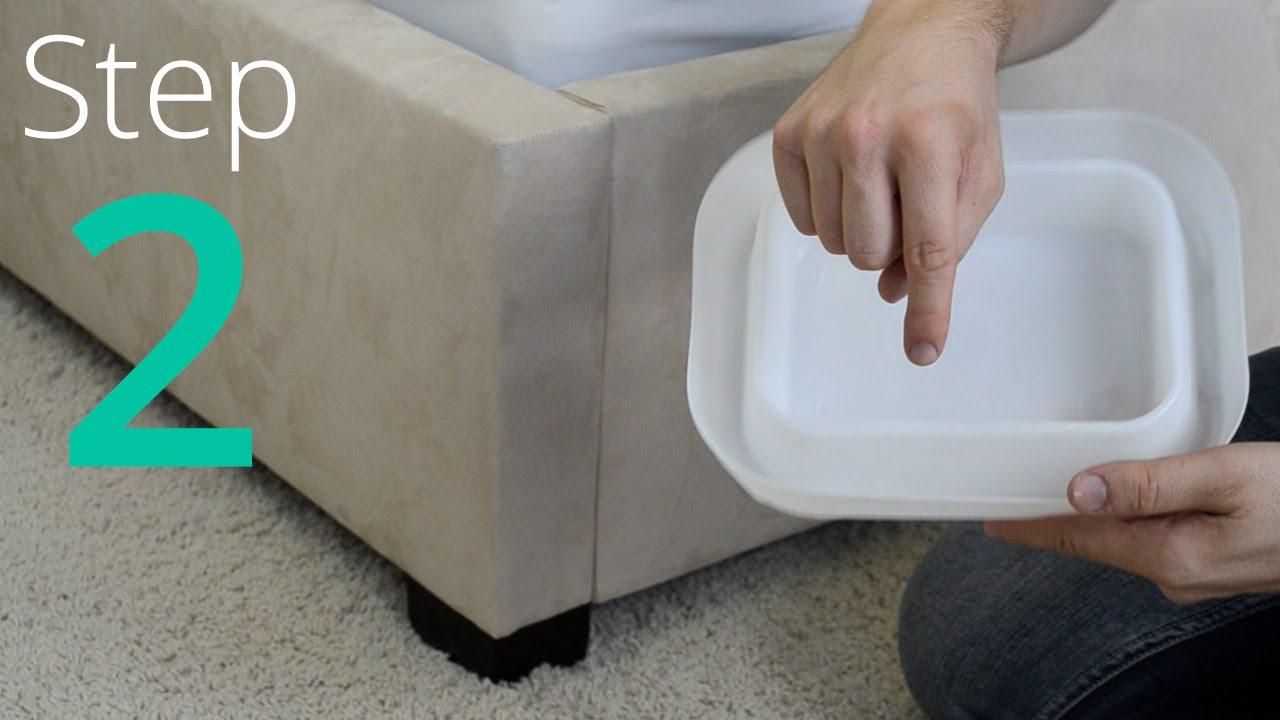 Como eliminar los chinches paso 2 4 aisla tu cama for Productos para eliminar pececillos de plata