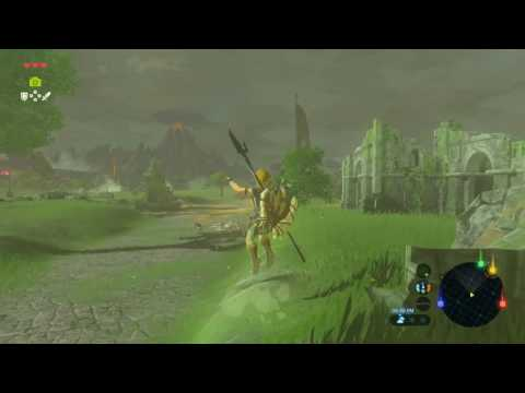 Guardian Parry funtimes (Breath of the Wild highlight)