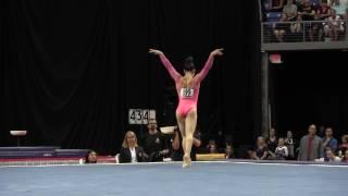 Aly Raisman- Floor Exercise - 2016 P&G Gymnastics Championships – Sr. Women Day 1