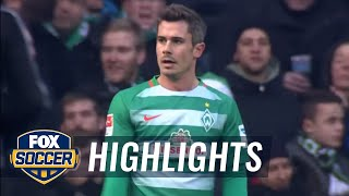 Video Gol Pertandingan Werder Bremen vs Borussia Monchengladbach
