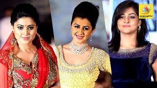 Sneha, Nikki Galrani, Remya Nambeesan at Madras Bridal Fashion Show | Ramp walk