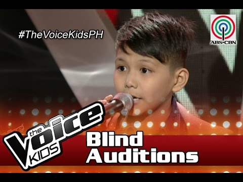 "The Voice Kids Philippines Blind Auditions 2016: ""Think Of Laura"" by Julian"