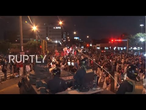 Peru: Fresh protests against ex-president Fujimori's pardon hit Lima