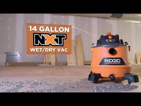 RIDGID Vacuums Head-to-Head (14 Gallon NXT)
