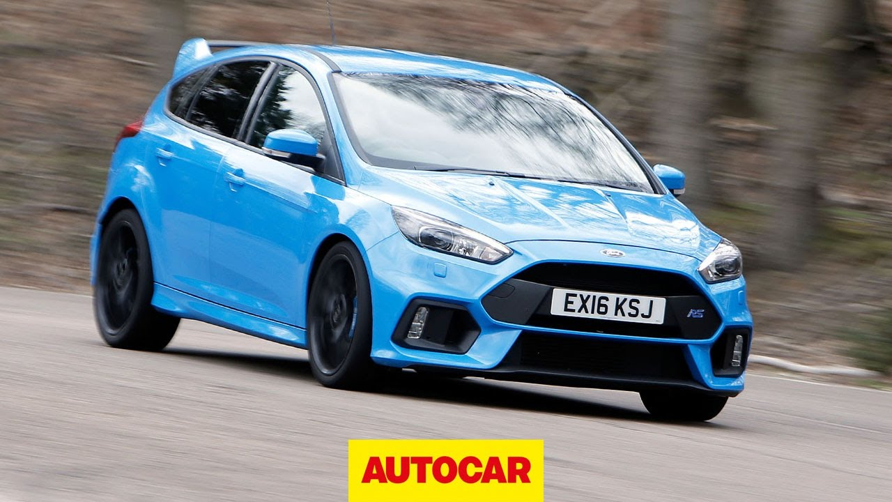 Ford Focus RS chasing a Porsche Cayman GT4 – Spa-Francorchamps onboard | Autocar