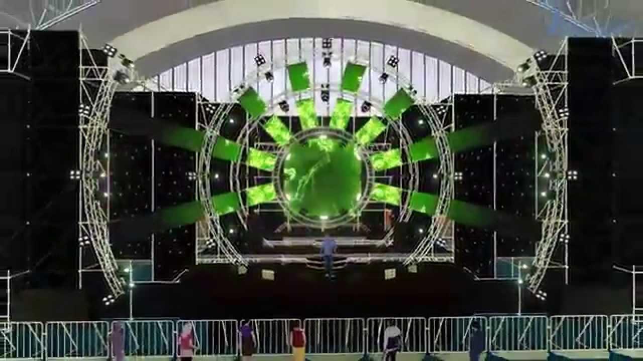 """Spider""concept stage design - YouTube"
