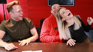 incredible accent challenge ft olly murs louisa johnson