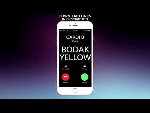 Bodak Yellow Ringtone - Cardi B