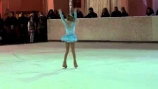 Ева Аш - уроки фигурного катания - видеосъемка студия RindaVideo
