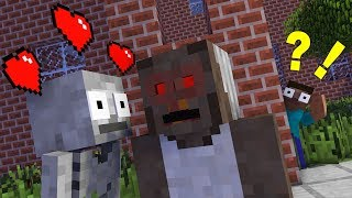 Monster School : SKELETON LOVE GRANNY ! RIP Skeleton Challenge - Minecraft Animation