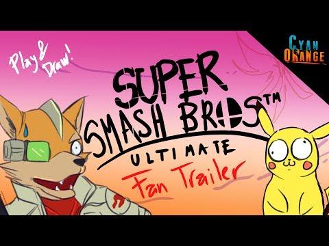 El trailer más REALISTA de Super Smash Bros Ultimate - Play and Draw - Episodio VI thumbnail