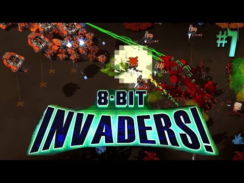 8-Bit Invaders: Marines#7 Walking Tall