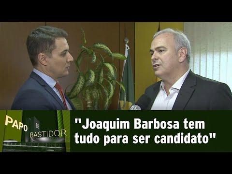 Líder do PSB na Câmara comenta possível candidatura de Joaquim Barbosa | Papo de Bastidor