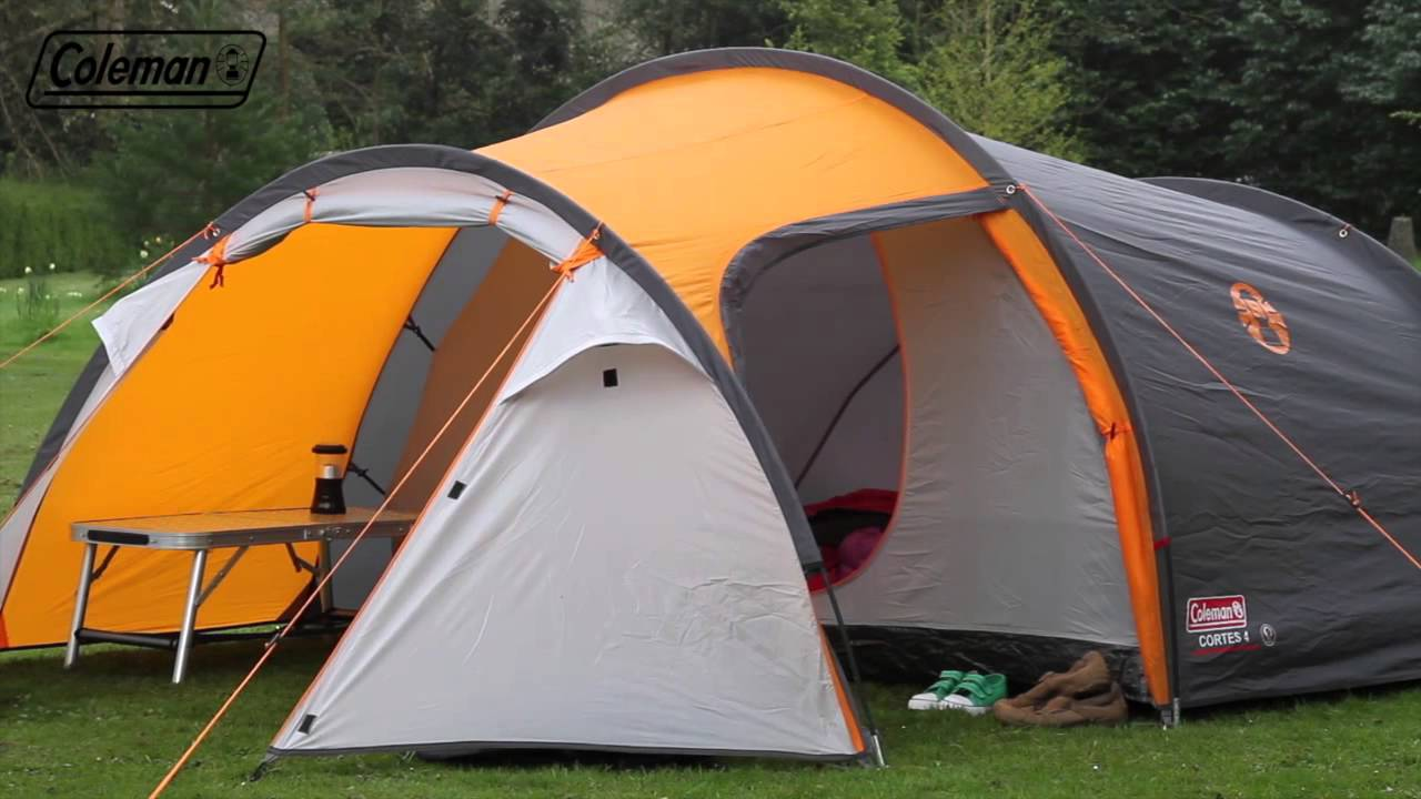 & Coleman® Cortes 4 - Four person Active Hiking Tent - EN - YouTube