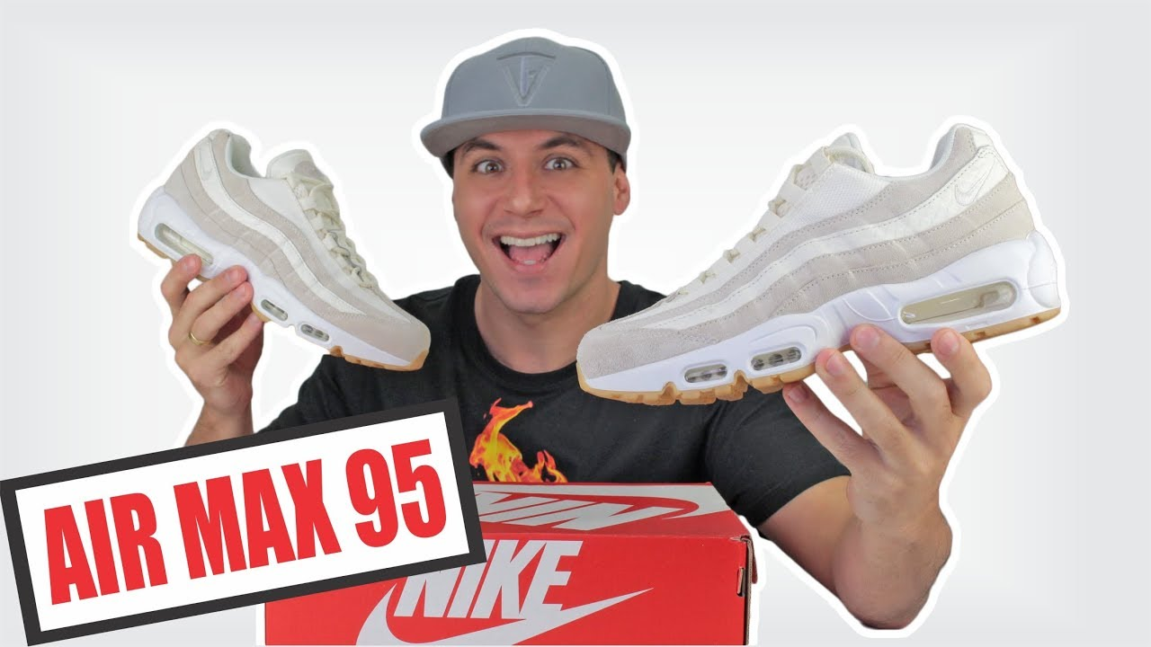 06bac4521 NIKE AIR MAX 95 Review + Unboxing + On feet original - YouTube