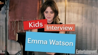 Emma Watson answers questions from kids | Entertainment Weekly