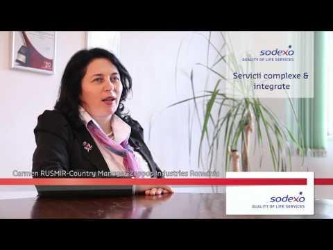 Testimonial al companiei Zoppas despre utilizarea serviciilor companiei Sodexo