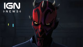 Darth Maul to Return in Star Wars: Clone Wars Finale - IGN News