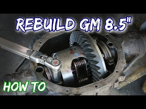 "How To: Rebuild a GM 8.5"" Rear Axle 10 Bolt Chevy"