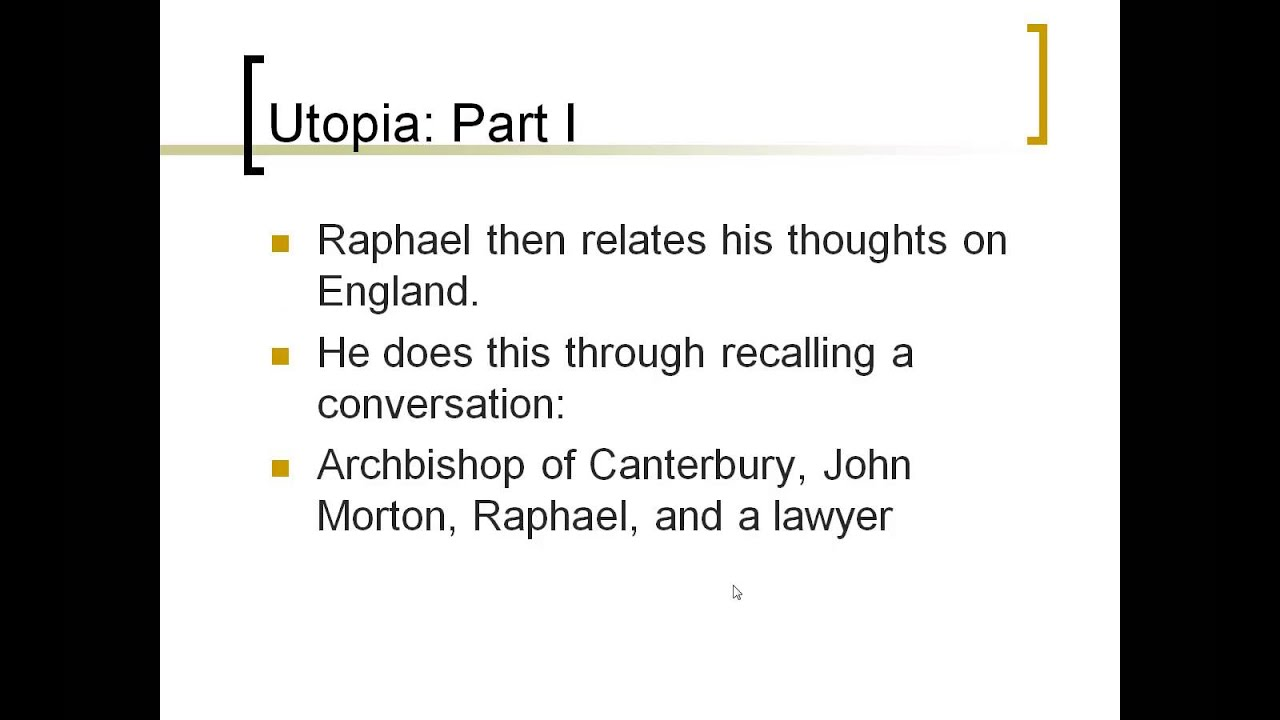 thomas more utopia analysis