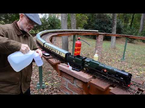 Gauge 1 Live Steam Merchant Navy Loco 35028 Clan Line